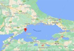 Son dakika: Tekirdağ açıklarında deprem İstanbul da sallandı