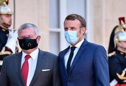 Macron, Ürdün Kralı 2. Abdullah ile görüştü
