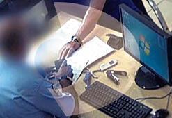 Polis merkezinde rüşvet pazarlığı