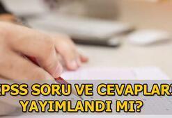 ÖSYM KPSS sınav soru ve cevaplarını açıklamayacak mı KPSS soru ve cevapları için gözler ÖSYMde