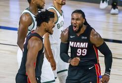 Doğu Konferansında ilk finalist Miami Heat