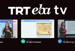 EBA - TRT canlı ders linki - EBA ders programı 10 Eylül