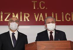TBMM Başkanı Mustafa Şentoptan önemli açıklamalar