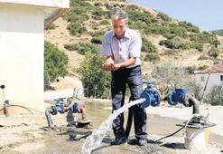 ASKİ ekipleri, su sorununu çözüyor