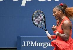 Serena Williams ABD Açıkta yarı finalde