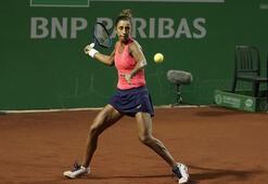 Çağla Büyükakçay, TEB BNP Paribas Tennis Championship İstanbula veda etti