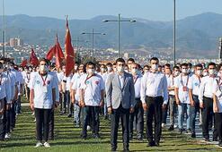 Ülkücü gençlerden 12 Ada yürüyüşü