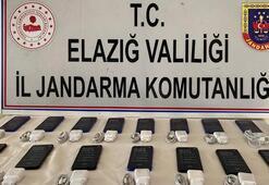 Elazığda 15 kaçak cep telefonu ele geçirildi
