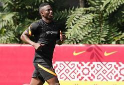Son dakika | Galatasarayda yeni transfer Etebo ilk idmanına çıktı