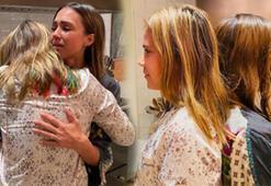 Jessica Alba kızının kendi boyunu geçtiğini görünce ağladı