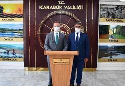 Adalet Bakan Yardımcısı Yılmaz, Karabük Valiliğini ziyaret etti