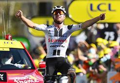 Fransa Turunda 12. etabı Marc Hirschi kazandı