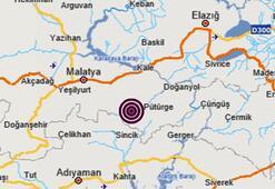 Son dakika: Malatyada 3.6 büyüklüğünde deprem