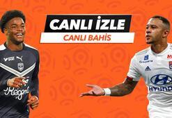 Bordeaux - Lyon karşılaşmasında Canlı Bahis heyecanı Misli.comda