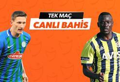Çaykur Rizespor - Fenerbahçe karşılaşmasında Canlı Bahis heyecanı Misli.comda