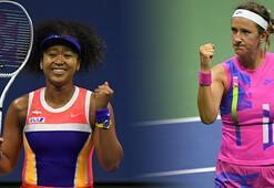 ABD Açıkta tek kadınlar finali Osaka ile Azarenka arasında oynanacak