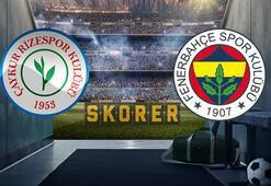 Çaykur Rizespor Fenerbahçe maçı ne zaman, saat kaçta, hangi kanalda