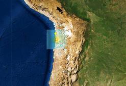 Son dakika... Şilide deprem fırtınası