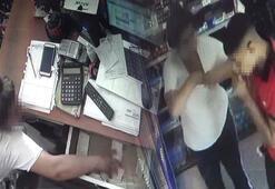 Güvenlik kamerasına takıldı Sütyenli hırsızlık