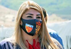 Kayserispor Kulübü Başkanı Berna Gözbaşıdan forvet transferi müjdesi