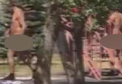 Sivasta çocuk parklarında çıplak gezen adam çevredekileri isyan ettirdi