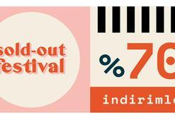 Açık havada indirimli alışveriş günleri: Sold Out Festival başlıyor