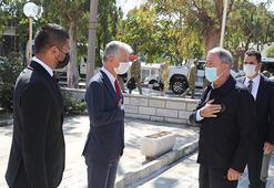 Bakan Akar ve TSK komuta kademesi İzmirde