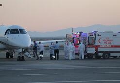 KKTCdeki covid-19 hastalarının Türkiyeye nakli sürüyor