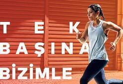 Türkiye'nin ilk sanal yarı maratonu