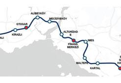 İstanbul'a hızlı metro geliyor 55 dakika sürecek