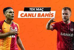 Galatasaray -  Gaziantep FK maçı Tek Maç ve Canlı Bahis seçenekleriyle Misli.com'da