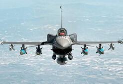 Bir metre kalınlığındaki betonu delebiliyor F-16ların gücüne güç katacak