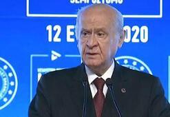 MHP Lideri Bahçeli Milli İrade Sempozyumunda konuştu