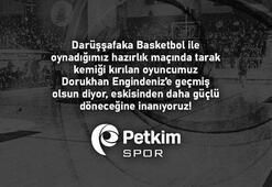 Petkimspor'da Dorukhan Engindeniz'in sağ el tarak kemiği kırıldı