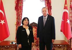 Erdoğan, Azerbaycan Milli Meclis Başkanı Gafarovayı kabul etti