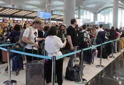Rakam açıklandı Yaz aylarında 7,5 milyon yolcu uçtu