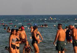 Yerli ve yabancı turistlerden Kızkalesine yoğun ilgi