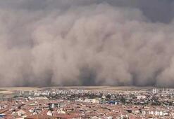 Ankara Polatlıdaki kum fırtınasının hasarı gün ağarınca ortaya çıktı