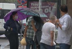 Son dakika... Meteoroloji uyarmıştı İstanbulda beklenen yağış etkisini gösterdi