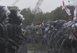 Belarus'taki protestolarda 250 gözaltı