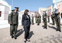 Yunanistan Cumhurbaşkanı Sakelaropulu Meis Adasını ziyaret etti