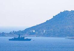 Meis Adası açıklarında askeri hareketlilik