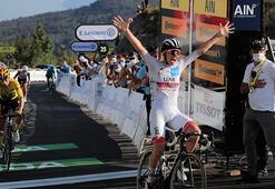 Fransa Turunun 15. etabını Tadej Pogacar