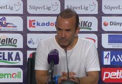 Mehmet Özdilek: Maçı kazandığımız için son derece mutluyuz