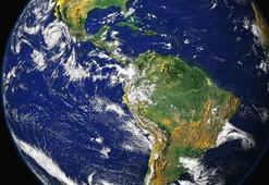 Dünya Dilsiz Siyasi Fiziki Haritası (Renkli): Ülkelerin Haritadaki Yerleri Ve Kıtaların İsimleri
