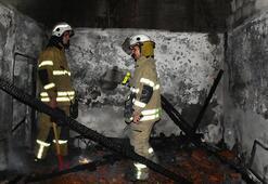 İzmirde kabus evi Olaydan bir saat sonra evi yandı