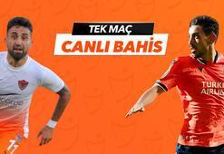 Hatayspor - Başakşehir maçı canlı bahis heyecanı
