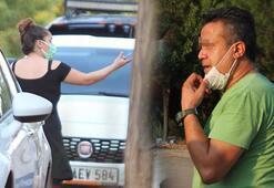 Karısı silahla tehdit edilen adam isyan etti Adam psikopat