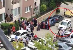 Arnavutköyde site içinde davullu zurnalı düğüne polis müdahale etti