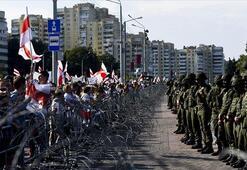 Belarus'taki protestolarda dün 774 kişi gözaltına alındı